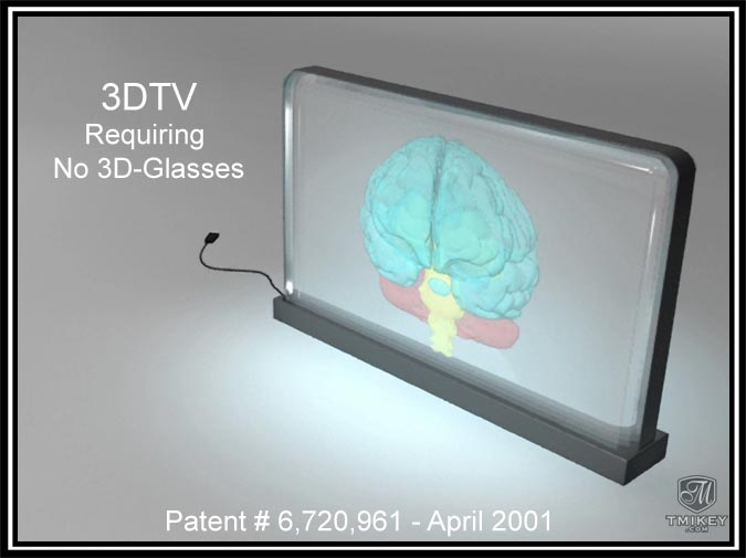 3DTV Requiring No Glasses