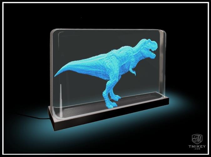 3DTV T-Rex