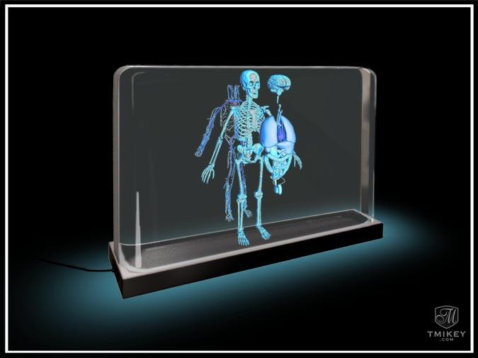 3DTV Skeleton Expansion