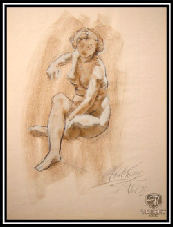 Seated Woman -1