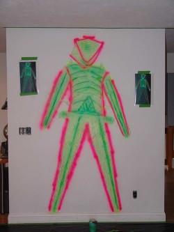 Light Green 'Skin' Applied