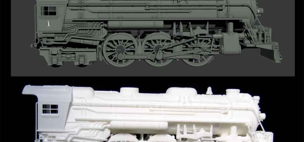3D Printing – The Train